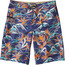 Patagonia M's Printed Wavefarer Board 21in Shorts Piton Paradise: Channel Blue